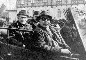 Honecker, Breschnew, Jagd