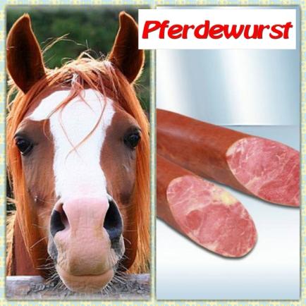 Wie schmeckt Pferdewurst