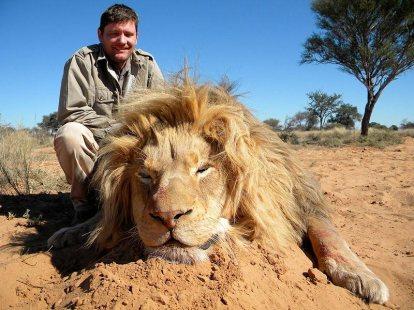 Großwildjagd in Afrika